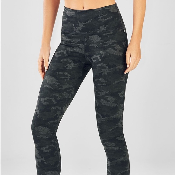 23675984f47b6 Fabletics Pants | Highwaisted Camo Leggings | Poshmark
